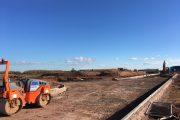 Road construction underway at £150 million Bridgwater Gateway