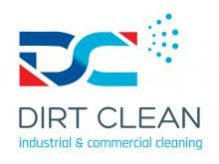 Dirt Clean Industrial & Commercial Cleaning Logo